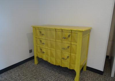 L'Atelier de l'Ill - Claudine Herzog - Relooking de meubles - Commode Chêne