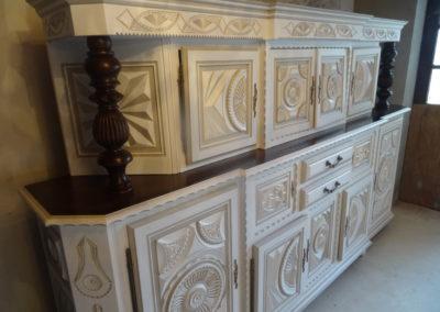 L'Atelier de l'Ill - Claudine Herzog - Relooking de meubles - Meuble basque