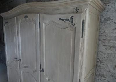 L'Atelier de l'Ill - Claudine Herzog - Relooking de meubles - Armoire en merisier