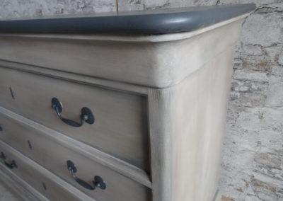 L'Atelier de l'Ill - Claudine Herzog - Relooking de meubles - Commode Louis Philippe