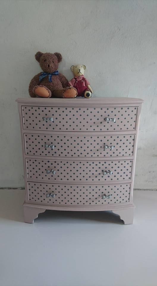 L'Atelier de l'Ill - Claudine Herzog - Relooking de meubles - Commode bébé