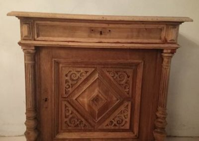L'Atelier de l'Ill - Claudine Herzog - Relooking de meubles - Bahut ancien