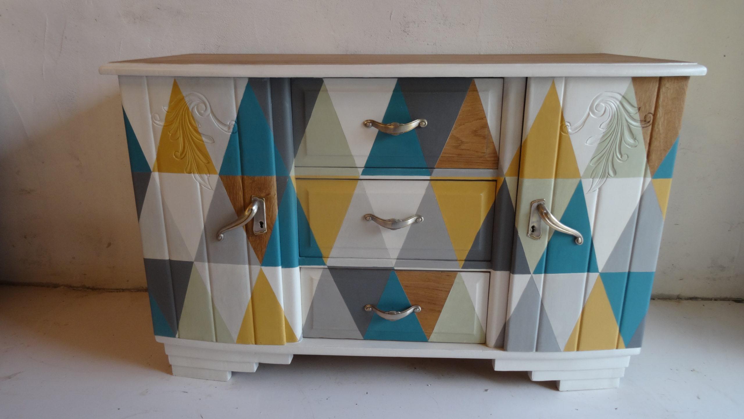 L'Atelier de l'Ill - Claudine Herzog - Relooking de meubles - Buffet bas